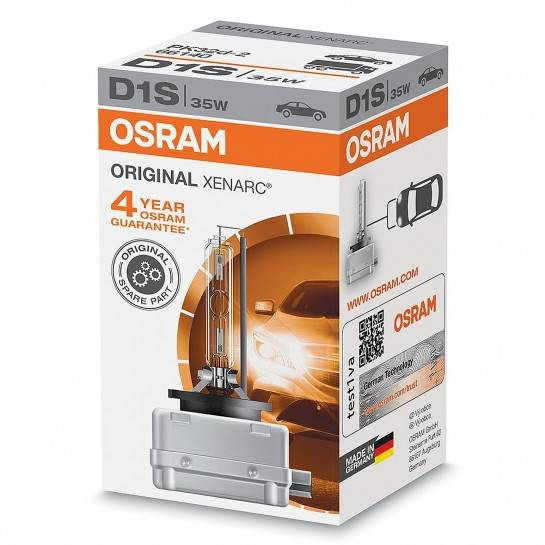 Osram XENARC ORIGINAL D1S 35W xenónová výbojka - 4 roky záruka