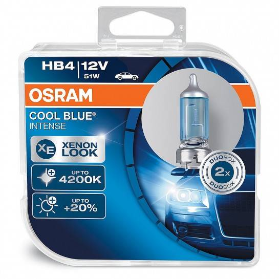 Osram Cool Blue Intense HB4 9006CBI 12V 51W