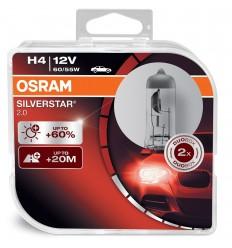 OSRAM H4 12V 60 55W +60% SV2 BOX