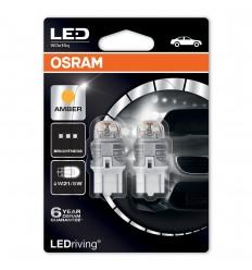 Osram LEDriving Premium 7915YE-02B W3x16q 12V Amber W21/5W 2ks