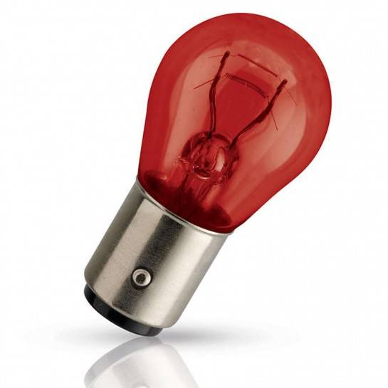 Žiarovka 12V PR21/5W 21/5W BAW15d červená Philips