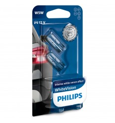 Philips 12V 5W W2,1x9,5d W5W WhiteVision - blister 2ks