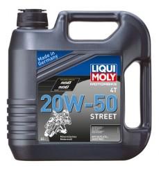 LIQUI MOLY 4T 20W-50 STREET - 4l
