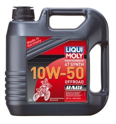 LIQUI MOLY 4T SYNTH 10W-50 OFFROAD RACE - 4l
