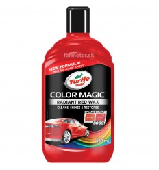 Turtle Wax Color Magic Plus červený 500ml