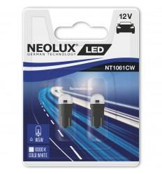 Neolux LED W5W NT1061 12V 0,5W duoblister 6000K
