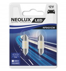 Neolux NF6431CW-02B 6000K 31mm LED 2ks/blister