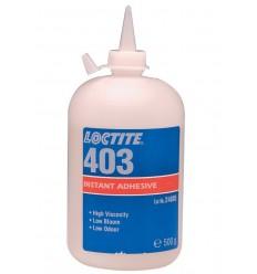 Sekundové lepidlo Loctite 403 - malý zákal, malý zápach, stredná viskozita