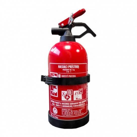 hasiaci prístroj 1kg bez manometra práškový