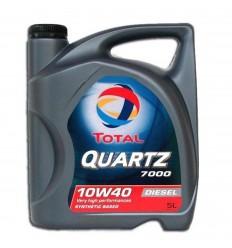 TOTAL QUARTZ DIESEL 7000 10W-40 5 L