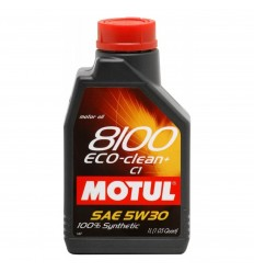 MOTUL 8100 ECO-CLEAN+ 5W-30 1L 101580