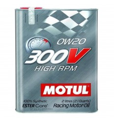 MOTUL 300V HIGH RPM 0W-20 2L 104239