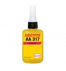 Loctite AA 317 50ml - akrylátové konštrukčné lepidlo, rýchle, malé špáry