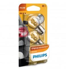 Philips Original Vision +30% 12V P21/4W signalizačná autožiarovka - 2ks