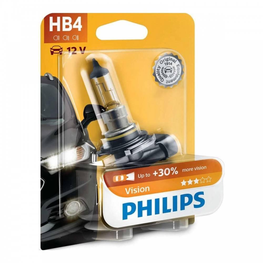 philips vision 30 hb4 12v 51w 9006prb1 1ks. Black Bedroom Furniture Sets. Home Design Ideas