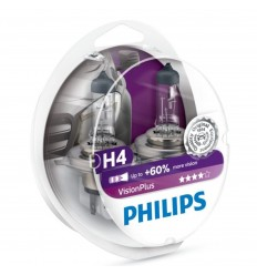 Philips H4 12V 55W Vision Plus Box +60%