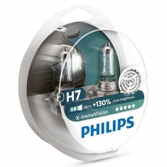 žiarovka 12V H7 Xtreme Vision Box Philips