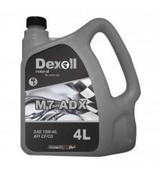 Dexoll 15W-40 M7 ADX 4L