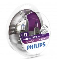 PHILIPS H1 12V 55W Vision Plus Box +60%