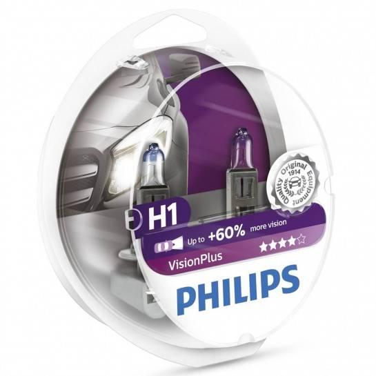 žiarovka 12V H1 Vision Plus Box Philips