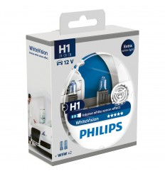 Philips H1 12V 55W P14,5s+W5W WhiteVision -set 2ks