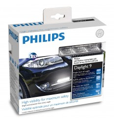 Philips LED denné svetlá 12V 2x3,5W - 9LED- 6000K