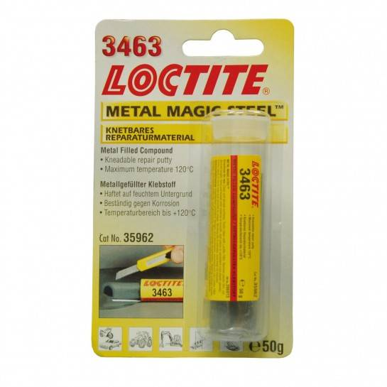 LOCTITE 3463 METAL MAGIC STEEL - TYČINKA 50g