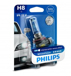 Philips H8 12V 35W PGJ19-1 WhiteVision -1ks