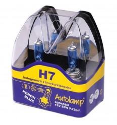 Žiarovky Autolamp H7 12V 100W blue 2ks/balenie