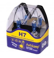Žiarovky AUTOLAMP H7 12V 55W PX26d XENON BLUE 2ks/balenie