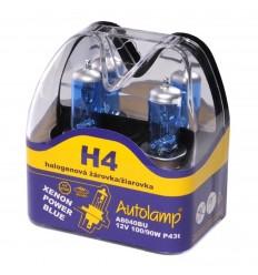 Žiarovka AUTOLAMP H4 12V 100/90W XENON POWER BLUE 2ks/balenie