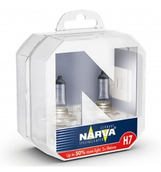 Žiarovka Narva Range Power 50% H7 12V 55W - 2ks/balenie