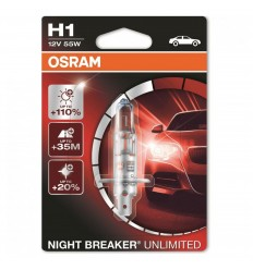 Osram Night Breaker Unlimited H1 12V 55W 64150NBU +110% -1ks