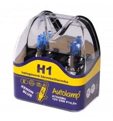 Žiarovka AUTOLAMP H1 12V 55W XENON BLUE 2ks/balenie