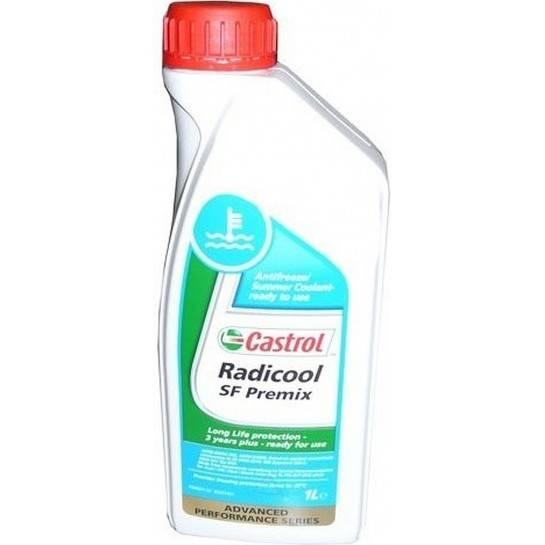 Castrol antifreeze Radicool SF Premix 1L (červeny)