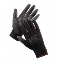 rukavice Bunting evolution čierne 8 M