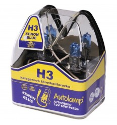 Autolamp xenon blue H3 12V 55W 2ks/balenie