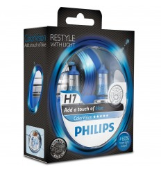 Philips ColorVision Blue H7 12V 55W 12972CVPBS2 - 1ks