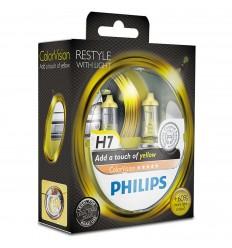 Philips ColorVision žltá H7 12V 55W 12972CVPYS2 - 2ks/balenie