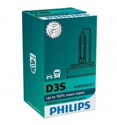 Philips xenónová výbojka D3S 35W X-tremeVision gen.2 + 150% - 1ks