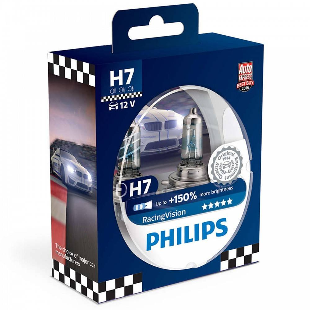 auto iarovky philips racing vision 12v h7 55w 150. Black Bedroom Furniture Sets. Home Design Ideas