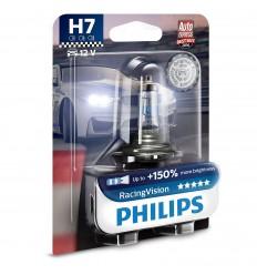 PHILIPS RACING VISION 12V H7 55W + 150% svetla - 1 ks