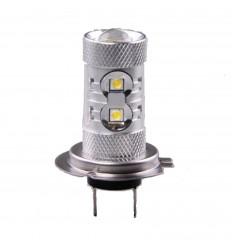 Žiarovka AUTOLAMP A-LED 12V-24V H7 50W nepolariz.chiprovky 1ks