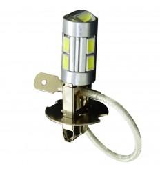 Žiarovka Autolamp LED H3 12V-24V H3 8SMD+5WCREE - 1ks