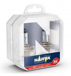 Narva Range Power +50 H4 12V 60/55W 2x Lifetime 2ks/balenie