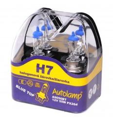 Žiarovka Autolamp BlueTop H7 12V 55W 2ks/balenie