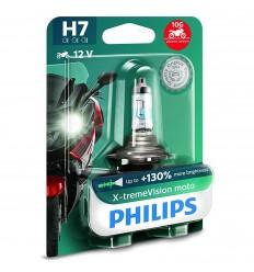 Philips X-treme Vision Moto +130% H7 12V 55W PX26d