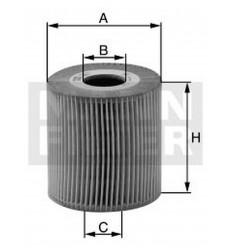 filter olejový mann HU 711/51x - HU 711/5x