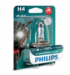 PHILIPS X-treme Vision Moto +130% H4 12V 55/60W PX26d