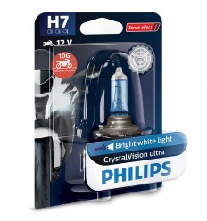 PHILIPS Crystal Vision ultra Moto H7 12V 55W PX26d